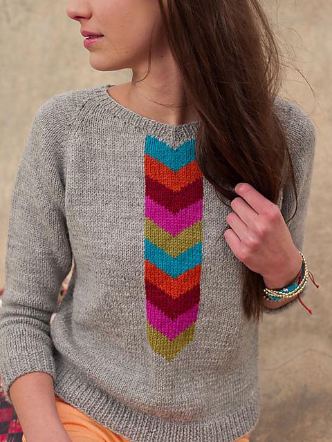 Knitscene Emmanuelle pullover